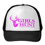 GIRLS HUNT DEER TRUCKER HAT