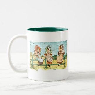 Girls In Bonnets Mug 2