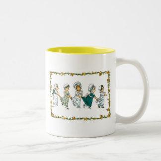 Girls In Bonnets Mug 3