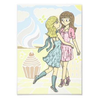 Girls in Pastel Photo