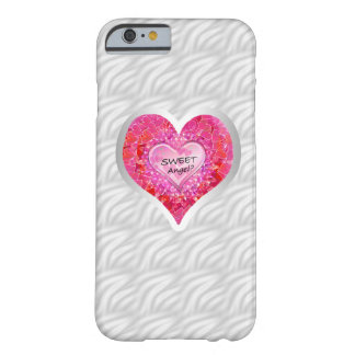 "Girl's Jeweled ""Sweet Angel? Heart""iPhone6 case"