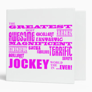 Girls Jockeys Pink Greatest Jockey Binders