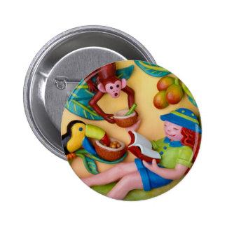 Girl's Jungle Safari Birthday Pins