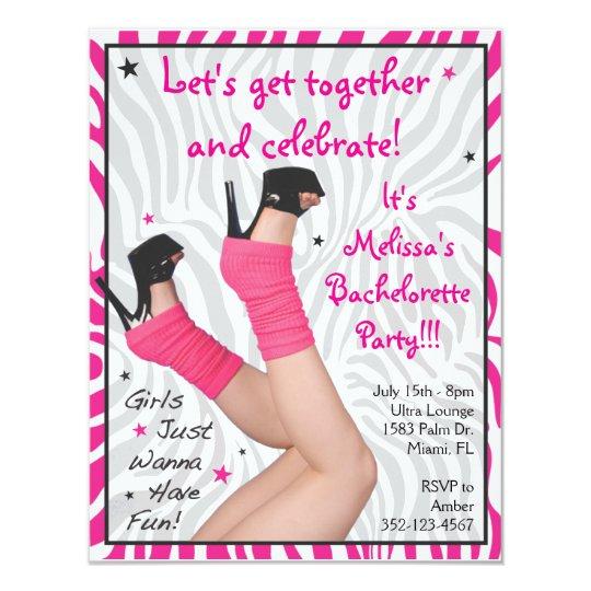 Girls Just Wanna Have Fun! Invitations