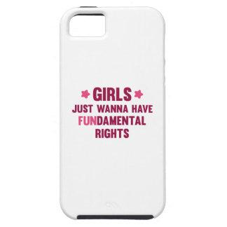 Girls Just Wanna Have Fun iPhone SE/5/5s Case