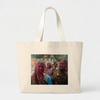 GIRLS JUST WANNA HAVE FUN Jumbo Tote Bag