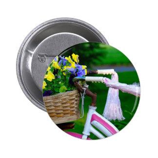Girls Just Wanna Have Fun, Pink Girls Bicycle Pins