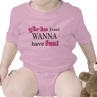 Girls Just Wanna Have Fun Rompers