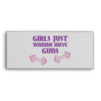 Girls Just Wanna Have Guns Envelopes