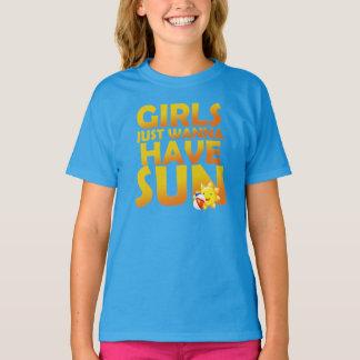 GIRLS Just WANNA Have SUN Tee