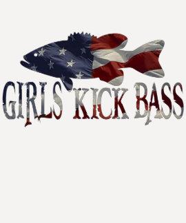 GIRLS KICK BASS TSHIRTS