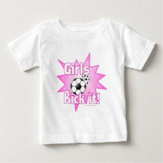 Girls Kick it Baby T-Shirt
