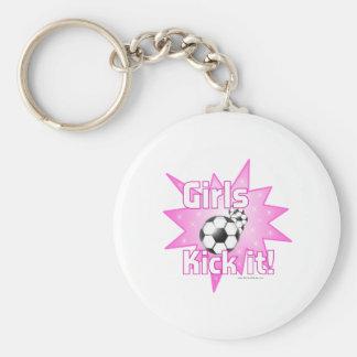 Girls Kick it Keychain