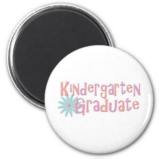 Girl's Kindergarten Graduation Gifts 2 Inch Round Magnet