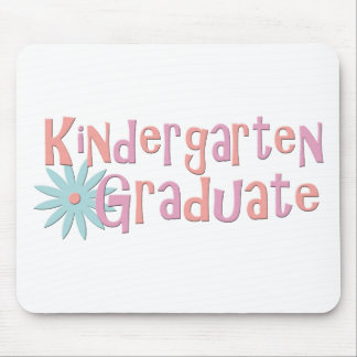 Girl's Kindergarten Graduation Gifts Mouse Pad