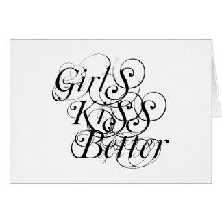 Girls Kiss Better Lesbian Gift Card