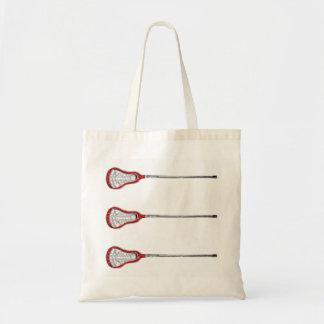girls lacrosse gift tote bag