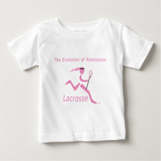 Girls Lacrosse Goes Big Time Baby T-Shirt