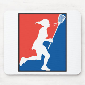 Girl's Lacrosse Mouse Pads