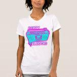 girls ladies women's ELECTRO shirt