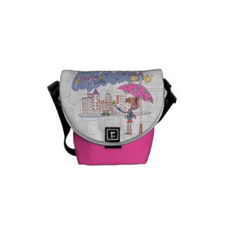 Girl's Life: Rainy Day Courier Bag