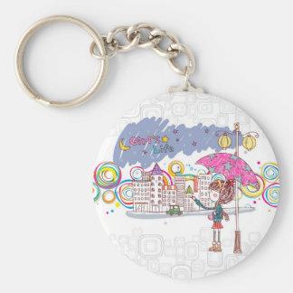 Girl's Life: Rainy Day Keychain