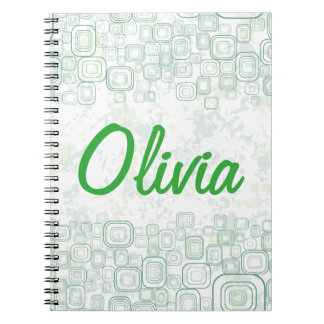 Girl's Life: Rainy Day Spiral Notebook