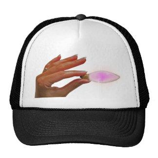 Girls light bulb hat