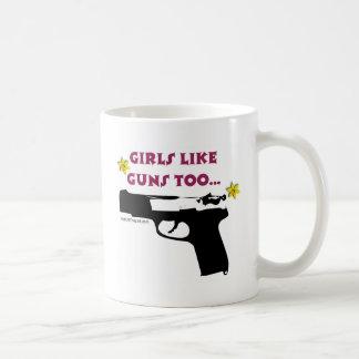 Girls Like Guns Too Coffee Mug