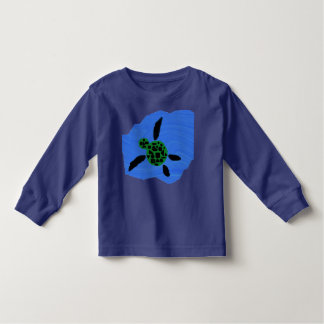 Girls Longsleeve Seaturtle Tee