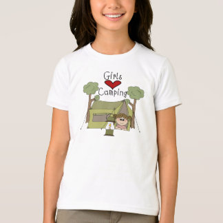 Girls Love Camping T-Shirt