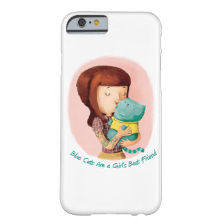 Girls love Cats. Blue Cats Barely There iPhone 6 Case