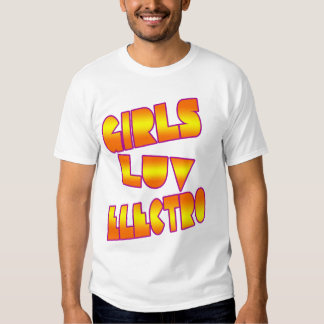Girls love Electro- 80s dance Club girls shirt