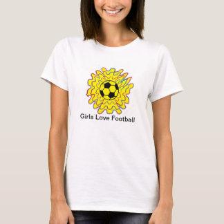 Girls Love Football ! T-Shirt