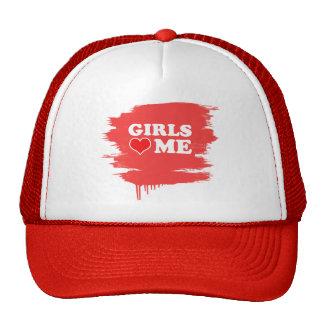 Girls Love Me Mesh Hats
