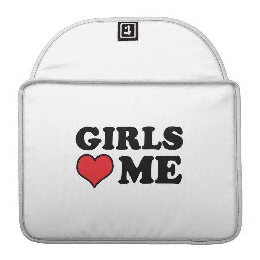 Girls Love me .png MacBook Pro Sleeve