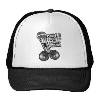 Girls Love my SOUND SYSTEM Hats