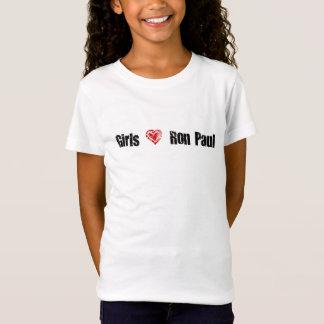 Girls Love Ron Paul Tee Shirt