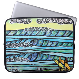Girls Love to Surf Laptop Sleeve