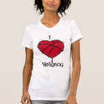 Girls Love Violence Too T Shirts