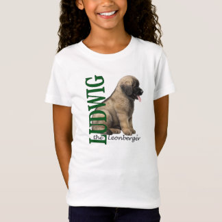 Girl's Ludwig the Leonberger Puppy T-Shirt