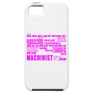 Girls Machinists : Pink Greatest Machinist iPhone 5 Case