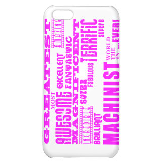 Girls Machinists : Pink Greatest Machinist Cover For iPhone 5C