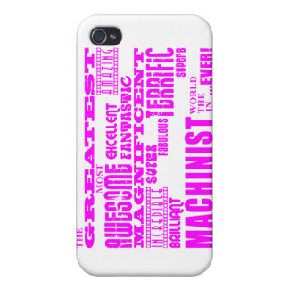 Girls Machinists : Pink Greatest Machinist iPhone 4 Cases