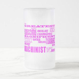 Girls Machinists : Pink Greatest Machinist Mug