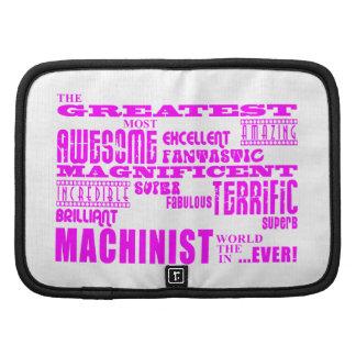 Girls Machinists : Pink Greatest Machinist Planner