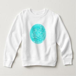 Girls Merry Christmas Vintage Sweatshirt Jumper