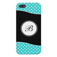 Girl's Monogram iPhone 5 Case