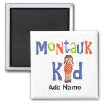 Girls Montauk Kid Refrigerator Magnets
