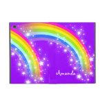 Girls name rainbow purple ipad air powis case cover for iPad mini